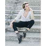 ST EUSTACHE chaussettes Ginza black Fringante (3)