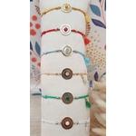 Bracelet fil medaille pierre 10 (2)_BD