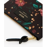 Black-Flowers-Small-Pouch-Bag-Detail