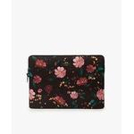 Black-Flowers-Laptop-15-Sleeve-Front-1