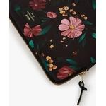 Black-Flowers-Laptop-Sleeve-Detail
