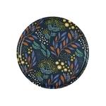 plateau-rond-en-bouleau-motif-mimosa-marine-35cm-