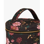 Black-Flowers-XL-Makeup-Bag-Detail