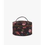 Black-Flowers-XL-Makeup-Bag-Front