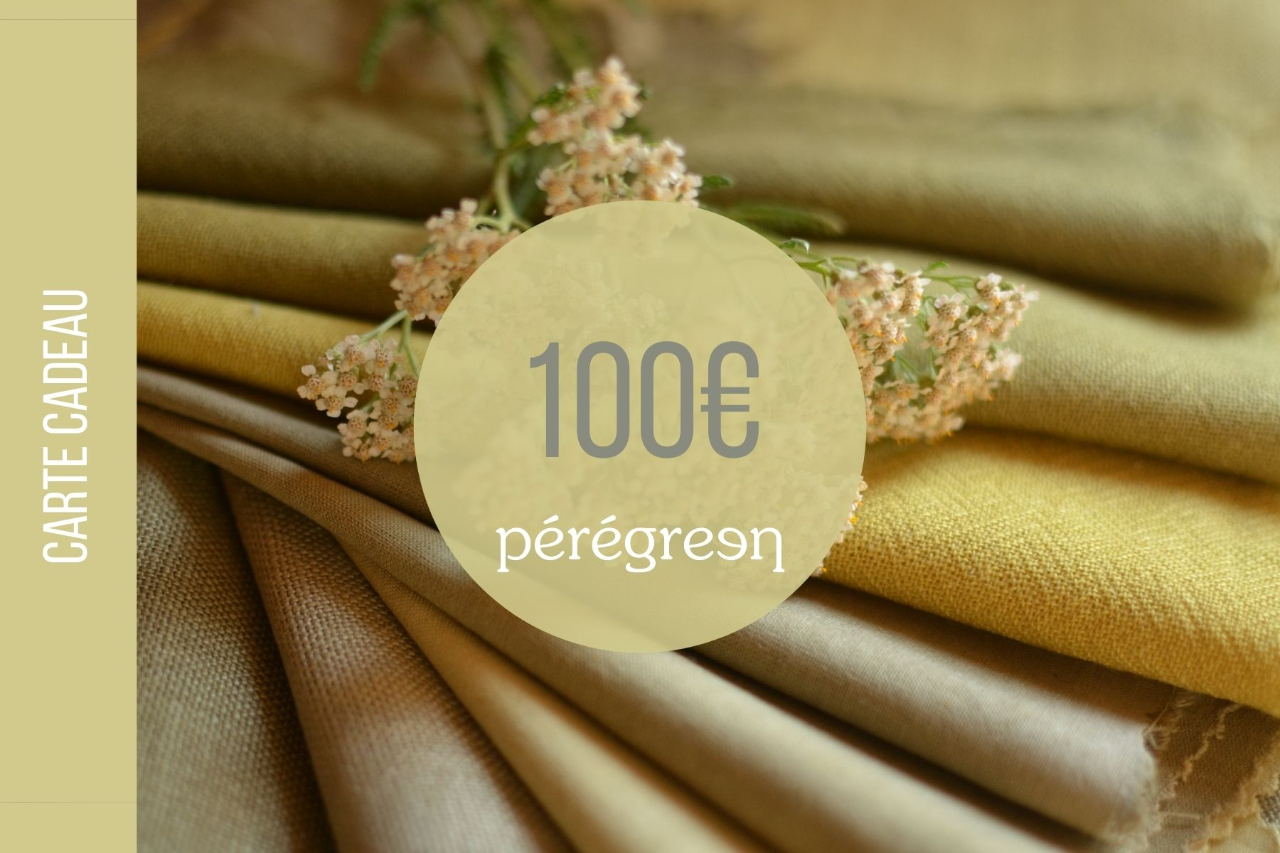 Carte cadeau Pérégreen
