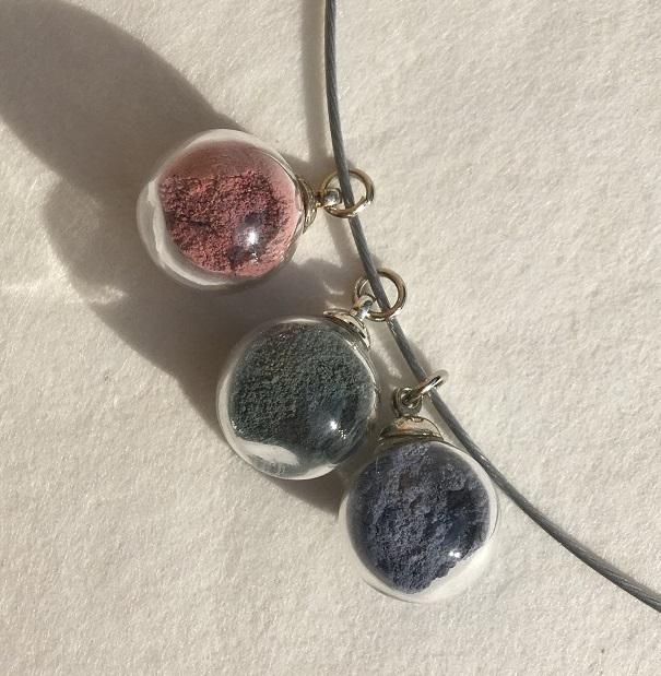 cable rose emeraude bleu detail blanc peregreen