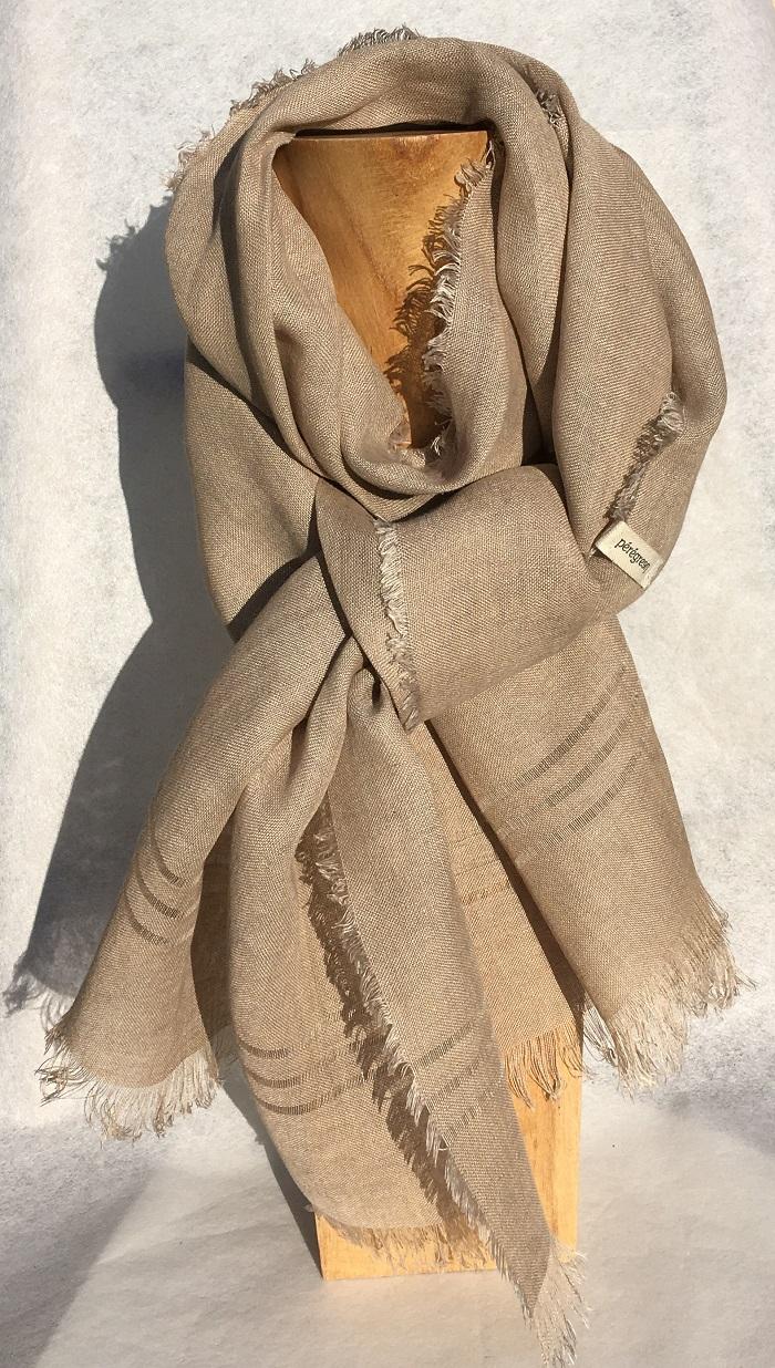foulard linj blanc cassé noyer peregreen