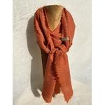 foulard laine garance orange peregreen