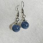 boucles bleu pic argent peregreen