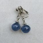 boucles clip bleu peregreen