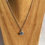 chaine 1 bulle bleu peregreen buste