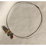 cable 3 bulles orange gris grenat peregreen
