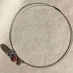 cable 3 bulles vert grenat gris entier peregreen