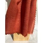 foulard laine garance rouge orange  jours peregreen