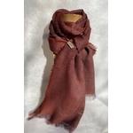 foulard grenat lin alpaga peregreen