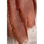 foulard rose lin alpaga detail peregreen