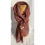 foulard grenat clair lin alpaga 2511 peregreen