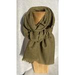 echarpe laine vert fougere peregreen