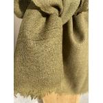 echarpe laine vert fougere peregreen detail