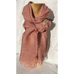 foulard lin rose pale peregreen