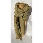 foulard lin vert clair peregreen