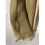 foulard lin vert clair peregreen detail