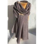 foulard laine gris peregreen nix de galle de chene