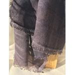 detail foulard bleu raye Peregren