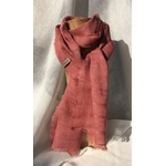 foulard rose Rosa Bonheur Peregreen racines garance