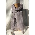 foulard gris perle Victor peregreen