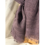 detail foulard violet-gris victor Peregreen