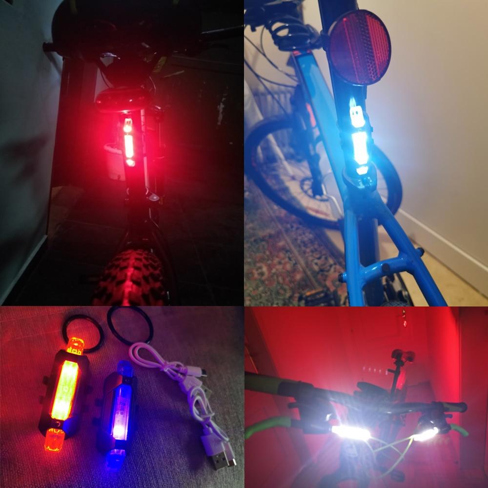 LED feu arrière arrière vélo.