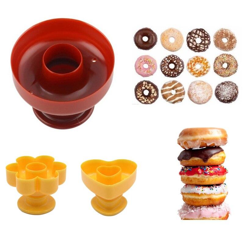 Moule à Donuts, en plastique alimentaire.