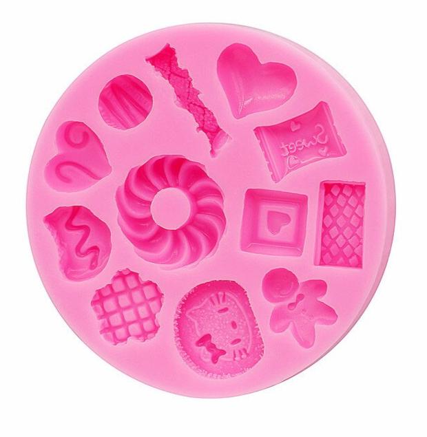 Moule à gâteaux, biscuits, bonbons en Silicone