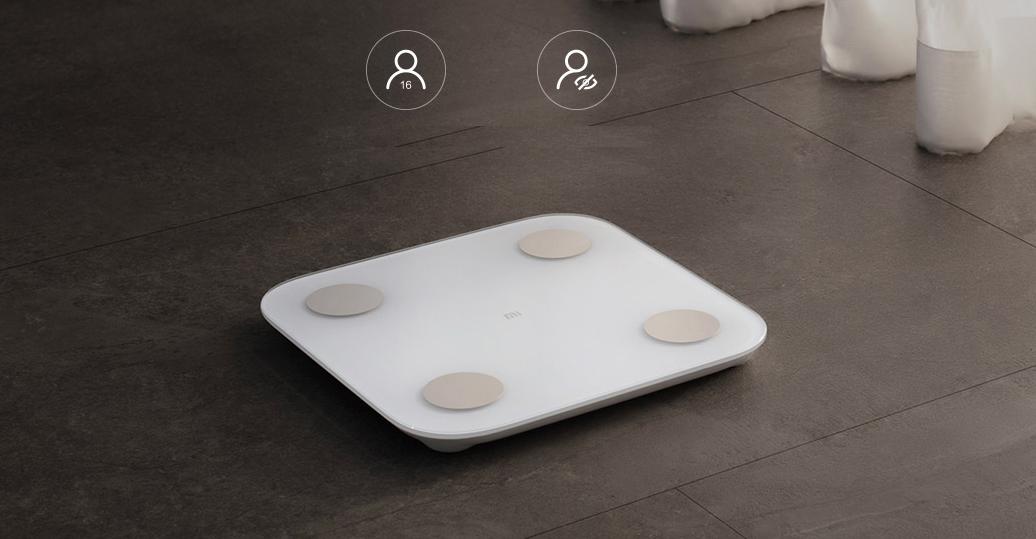 Balance intelligente Xiaomi Mi originale 2, Test d\'équilibre, Bluetooth 13 fonctions.