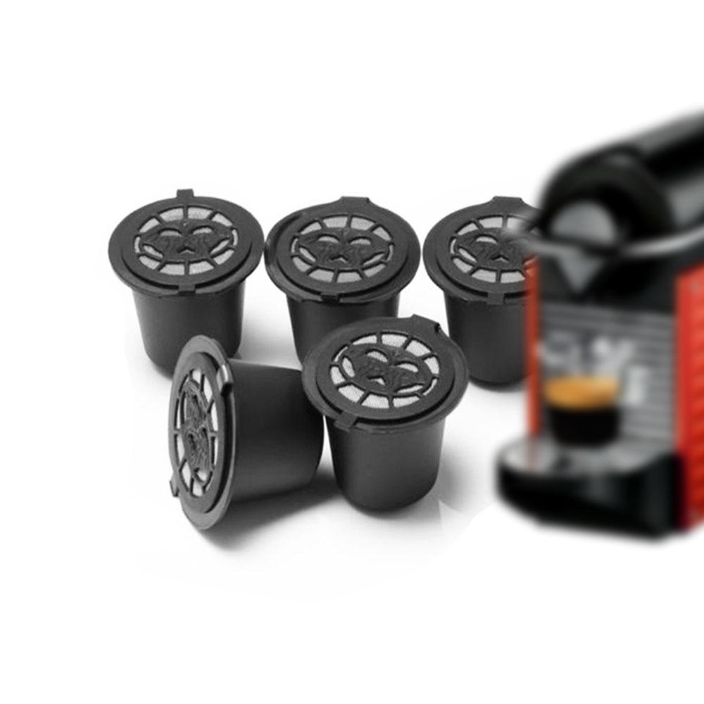 Capsules café réutilisables et compatibles pour Nespresso.