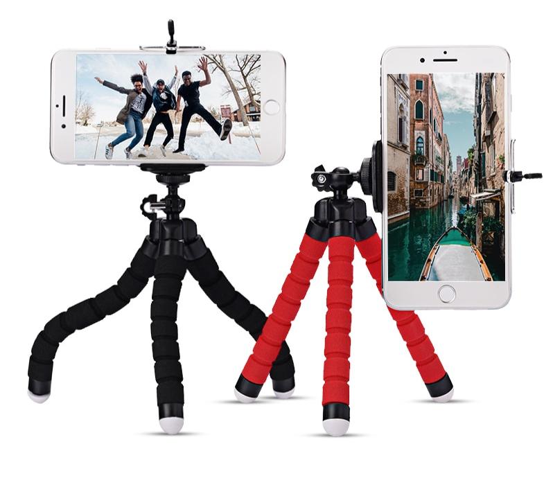Mini trépied flexible et pliable pour Smartphone.