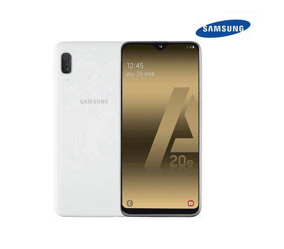 Samsung Galaxy A20e Dual Sim Blanc 32 Go. Neuf.