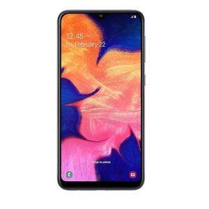 Samsung Galaxy A10 Noir avec Housse et verre trempé. Neuf. Débloqué.