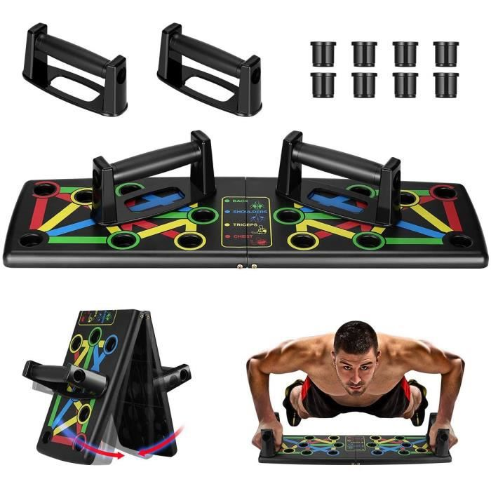 Abdo trainer / Planche musculation abdominaux noir.