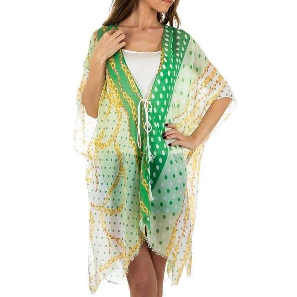 Tunique-Femme-pareo-plage-green
