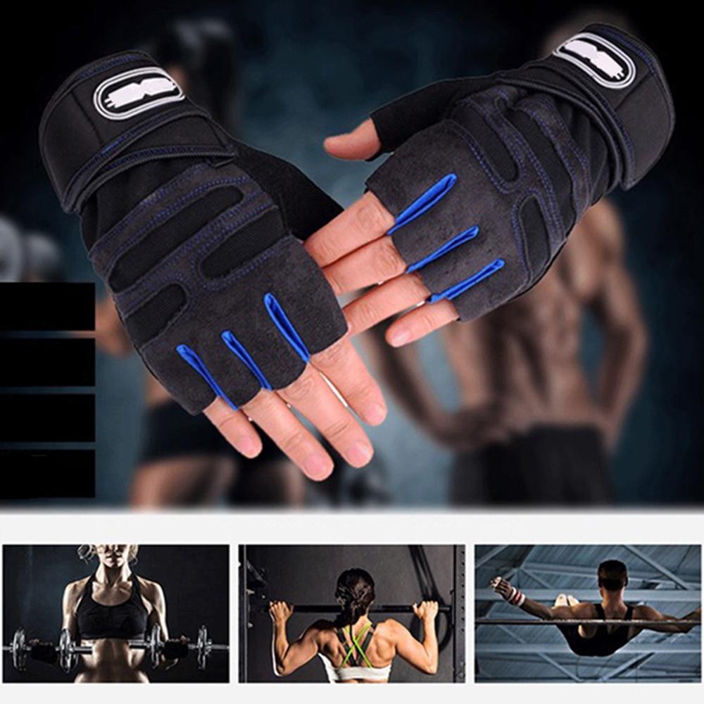 Gants de musculation Fitness pour entraînements salle.