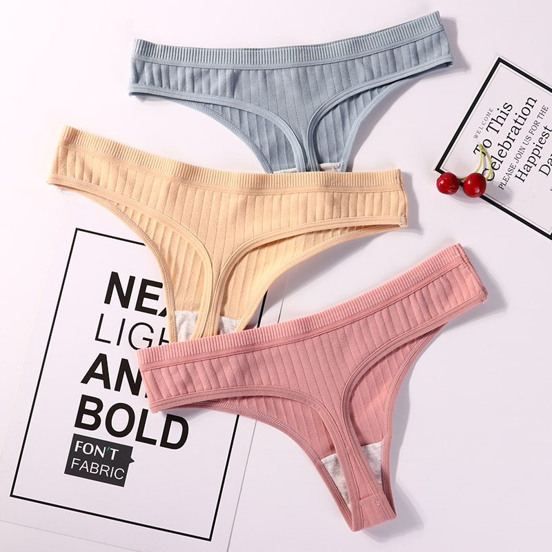 String sous-vêtements taille basse.