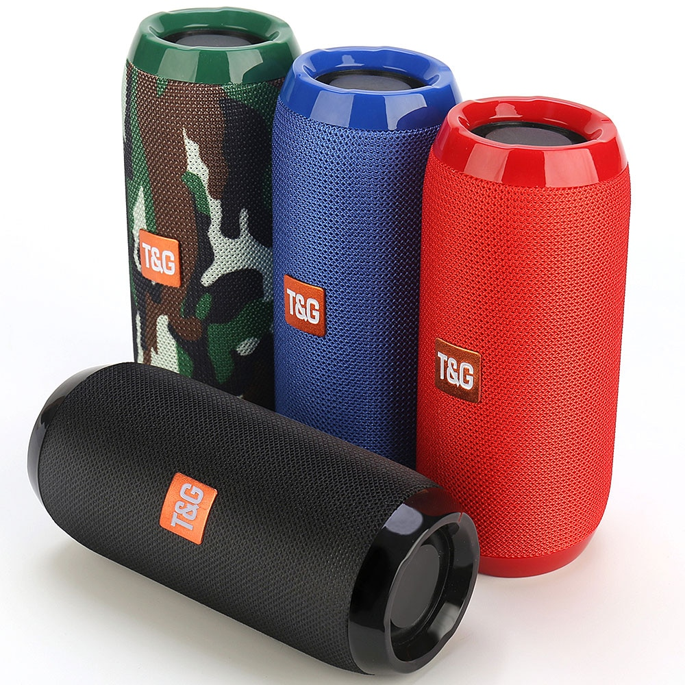 YABA – Haut-parleur Bluetooth portable sans fil, système sonore 3D, stéréo Surround,