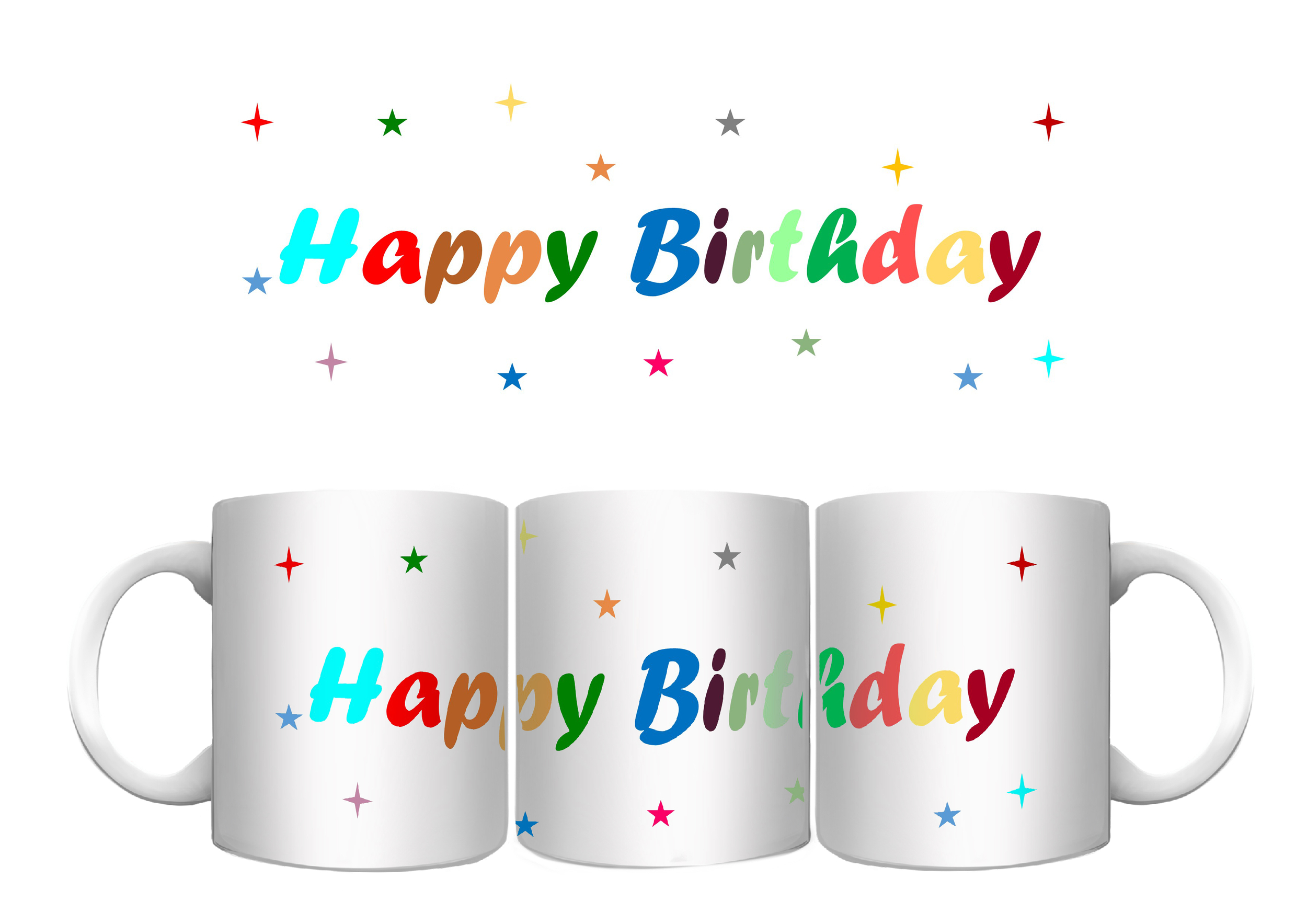 Mug - Anniversaire - Happy Birthday