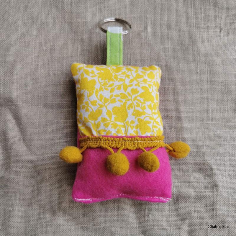 Porte clés patchwork n°5