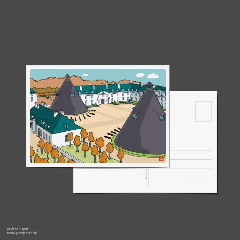 Carte postale Château de la Verrerie