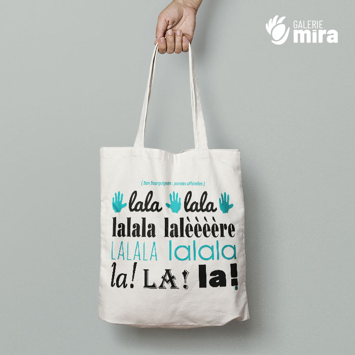 Tote bag Lalalère
