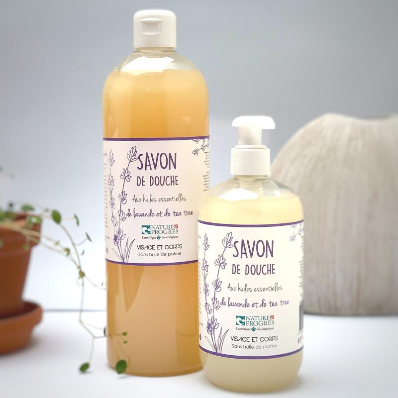 Savon de douche liquide – LAVANDE TEA TREE