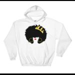 sweatshirt-capuche-queen-afro-blanc